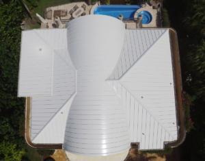 Radius Standing Seam Roof
