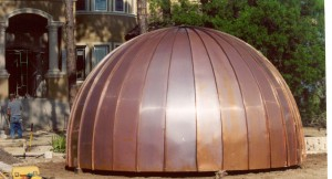 big-copper-dome-on-ground