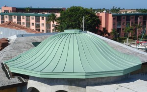 Green Turret Roof
